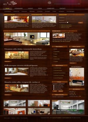 Share template JV Hisano - Joomla 1.5