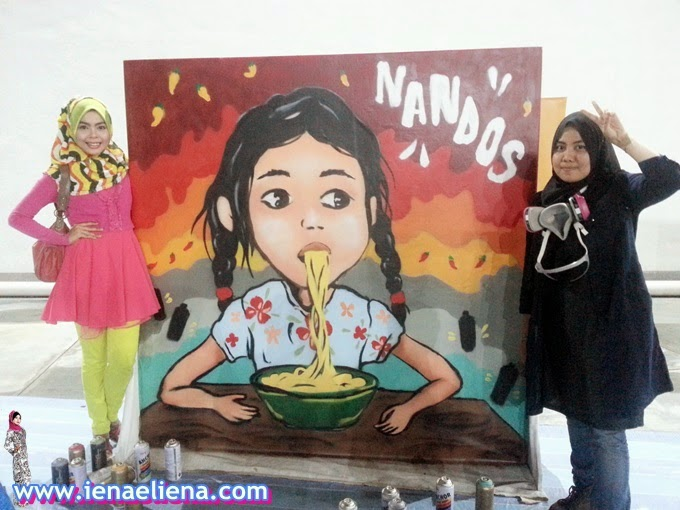 Nando's Art Initiative 2015's Graffiti
