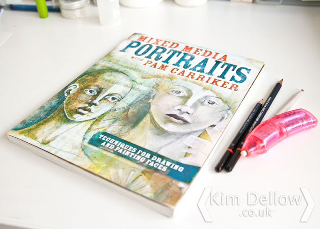Picture of Pam Carriker's Mixed Media Portraits book