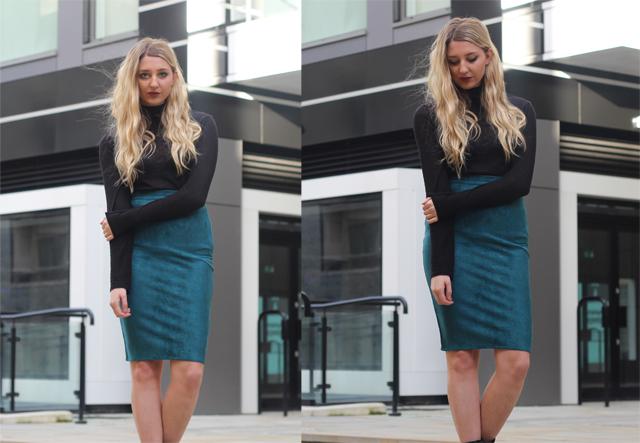 how to style pencil skirt party blog