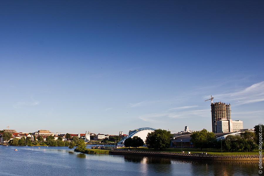 Минск. Свислочь. Верхний город