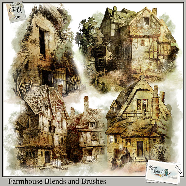 Farmhouse Blends and Brushes