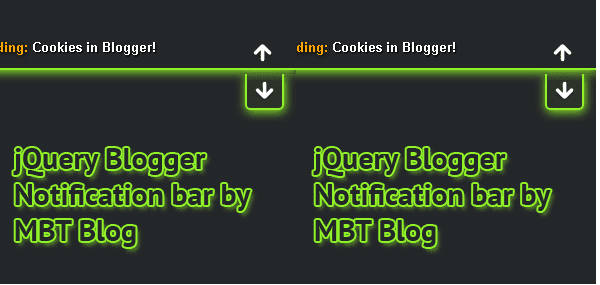 MBT Notification Bar for blogger