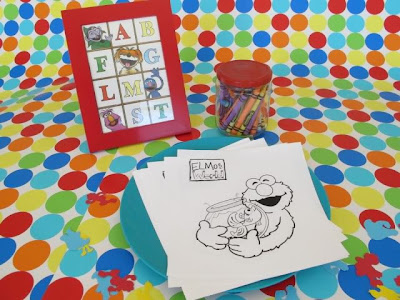 Sesame Street Birthday Party Activities