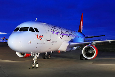 little red a320 virgin atlantic domestic service