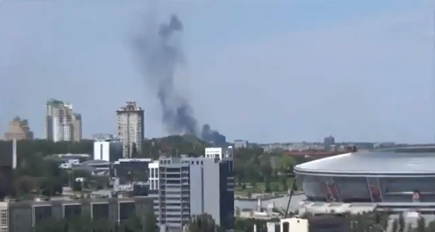 "5 civilians killed in Donetsk from residential areas shelling with ""Grad"" missiles"