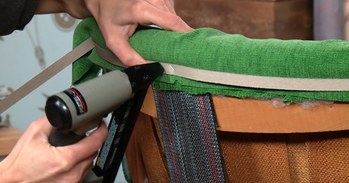 Learn to upholster free