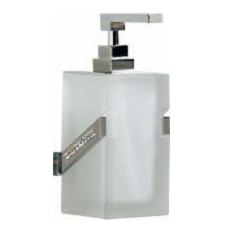 dosificador gel paredaccesorios de baño carmen con cristales de swarovski