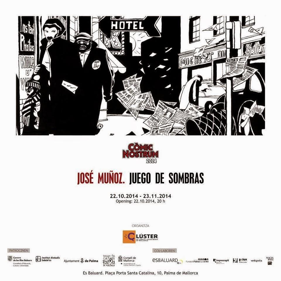 Exposición José Muñoz en Es Baluard Palma de Mallorca 2014