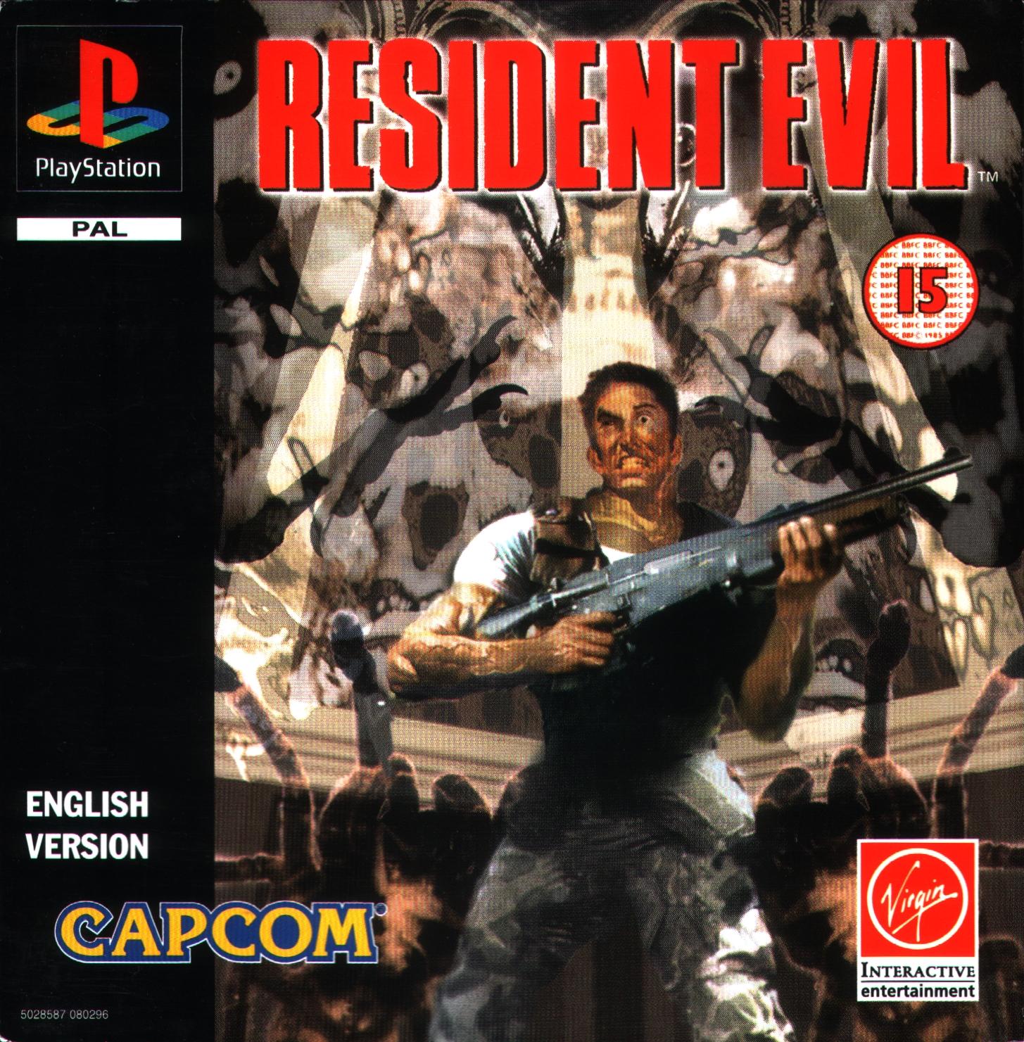 Resident Evil 1 E Espa 241 Ol Psx Biblioteca De Roms
