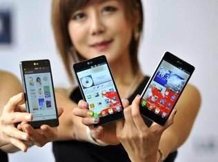 Smartphones com plataforma Android