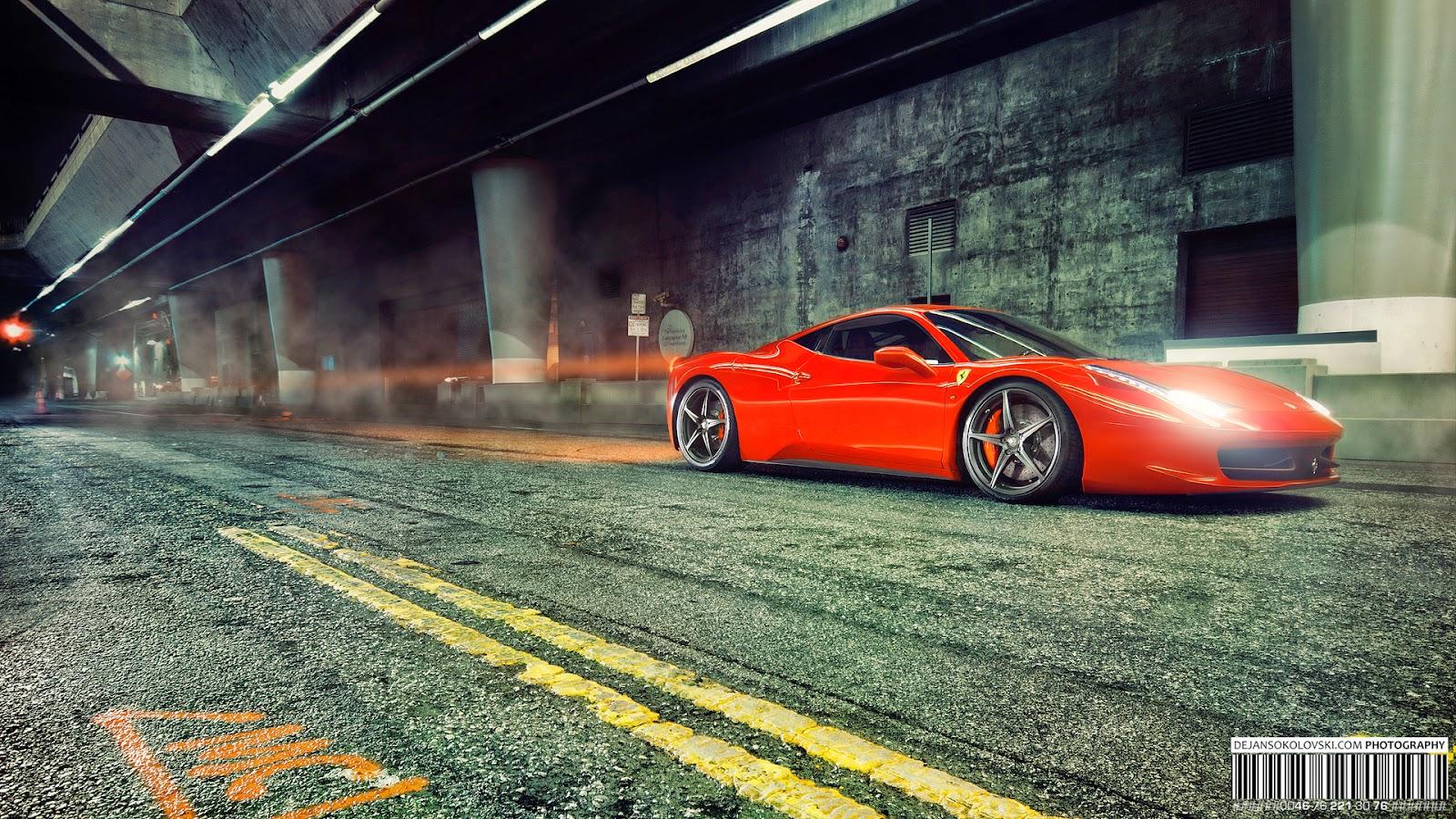 Wallpaper Mobil Sport Mewah Ferrari
