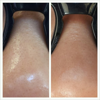Garnier perfect blur primer before and after