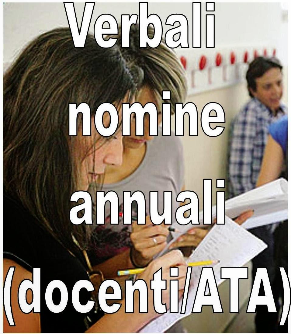 I verbali delle nomine