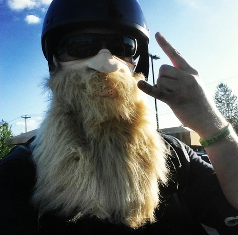 Biker Beard Face Mask