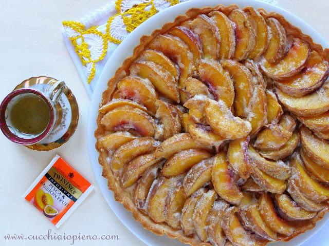 Torta de pêssego deliciosa, receita Donna Hay