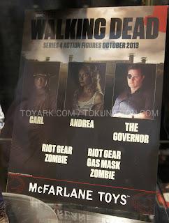 McFarlane Toys The Walking Dead 2013 Toy Fair Display - Series 4