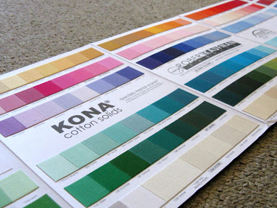 kona colour card