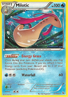 Milotic Flashfire Pokemon Card