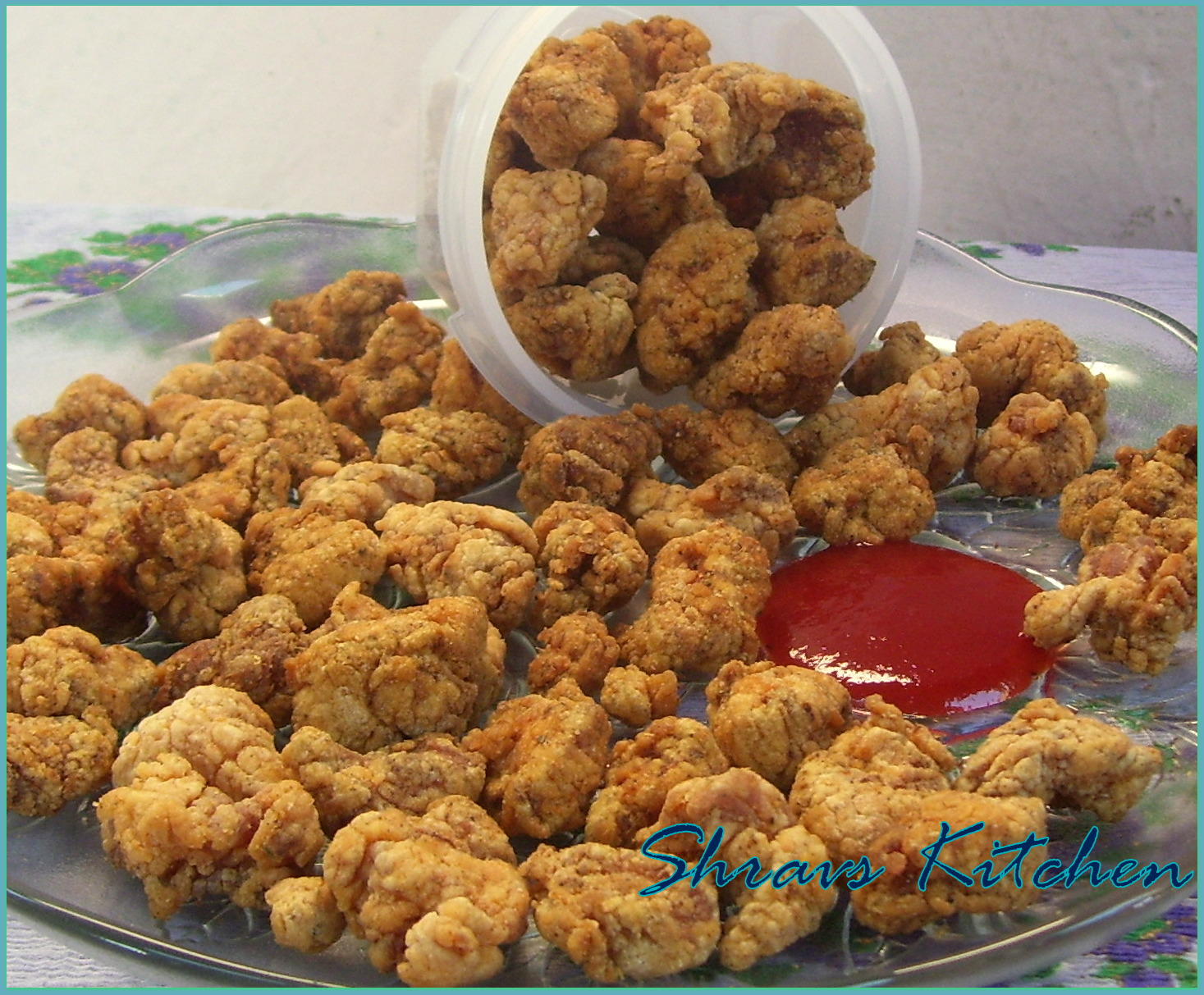 Shravs Kitchen: POPCORN CHICKEN