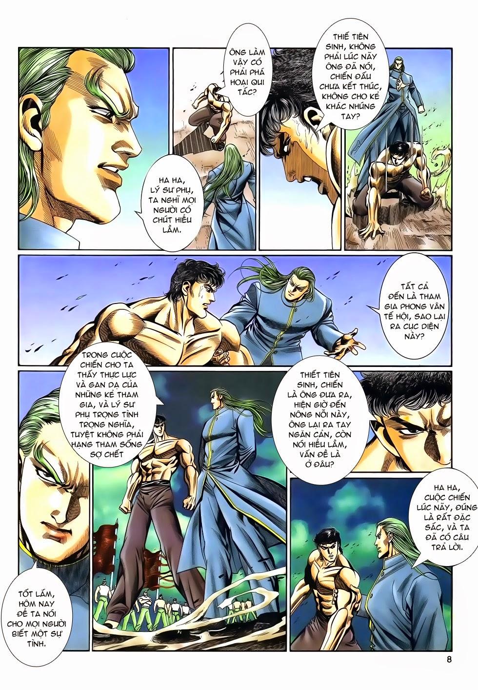 Long Hổ Phong Bạo chap 9 - Trang 8
