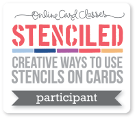 onlinecardclasses stenciled