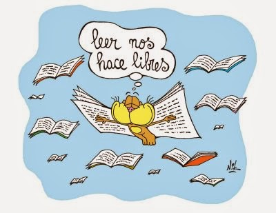 La lectura nos abre las puertas del mundo que te atrevas a imaginar.