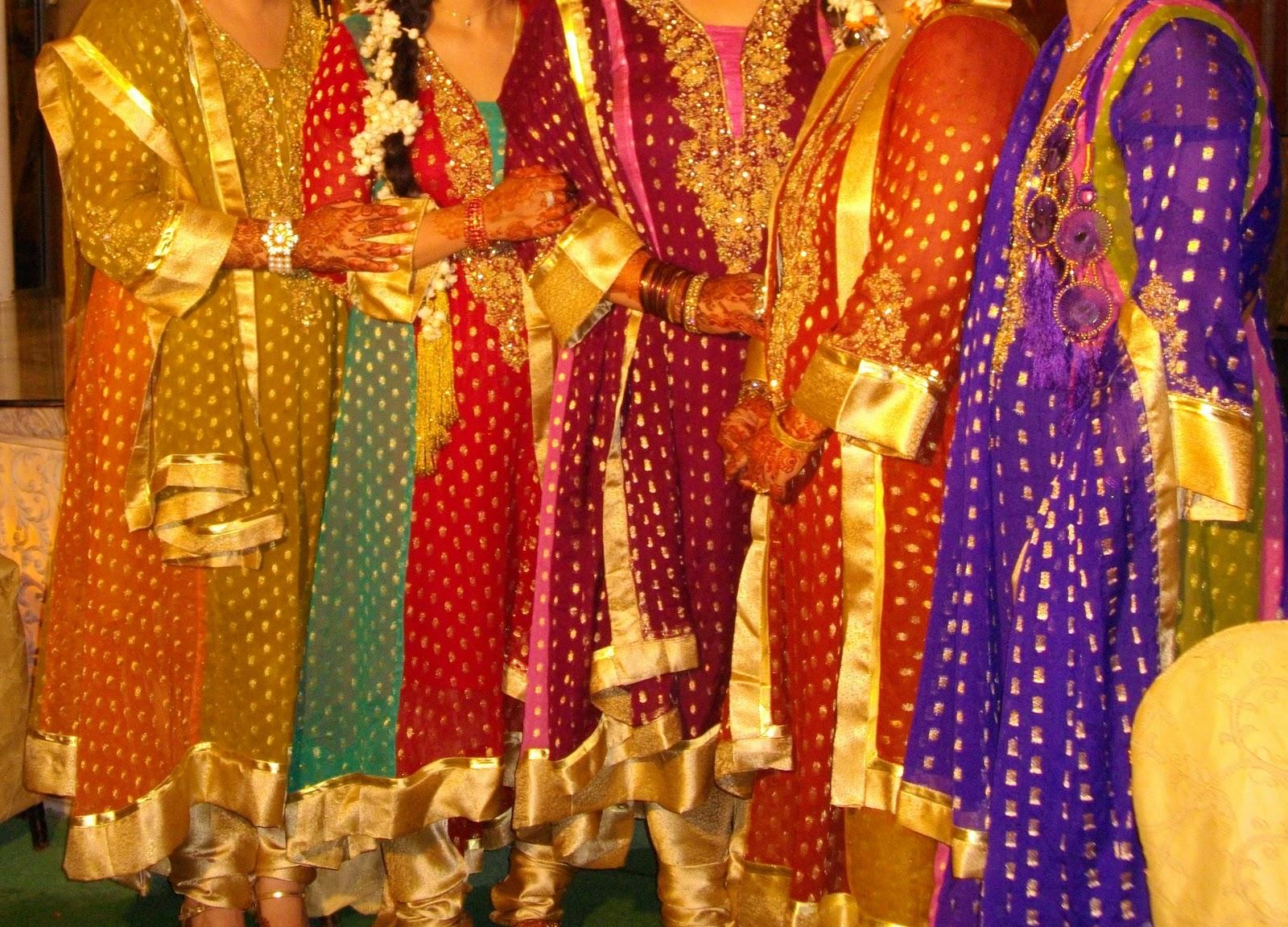 Mehndi And Mayon Decoration : Photography: mehndi mayon party dresses 2011 for indian girls