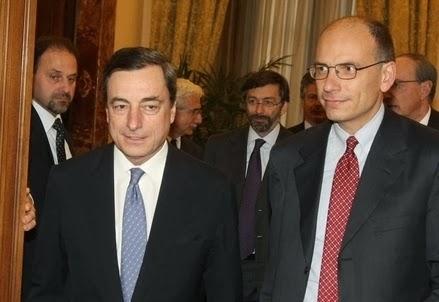 PER L'OTTIMISTA LETTA L'ITALIA USCIRA' DALLA CRISI GRAZIE ALLA BCE