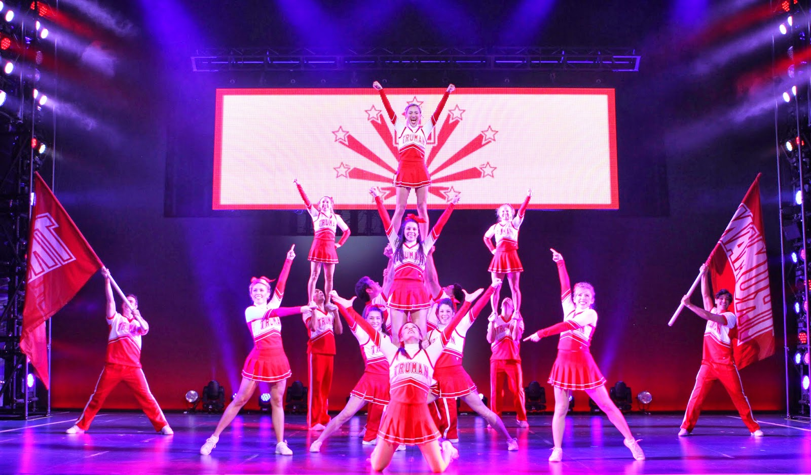 bring it on the musical comes to music center at