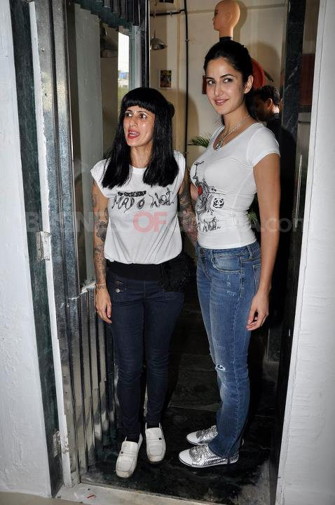 , Katrina Kaif Launches Mad-o-wot Salon In Bandra!