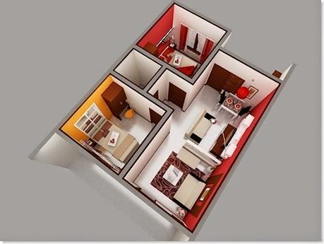 Desain ruangan minimalis 3