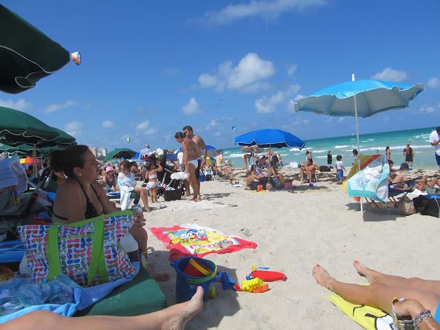 miami beach scenery,beach scenery,sunny