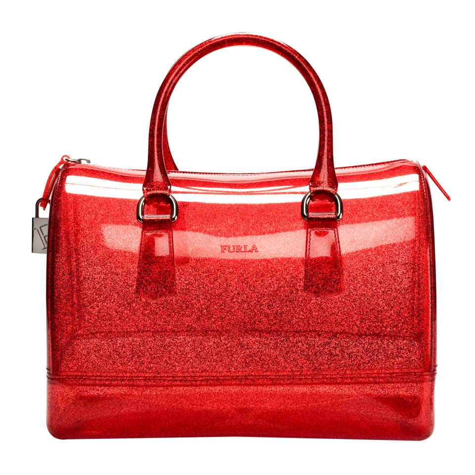 Furla Glitter Candy Bag - Rosso Glam