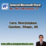 belajar microsoft word
