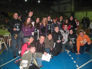 Equipe de Araranguá no Circuito Catarinense 2009 - Tubarão