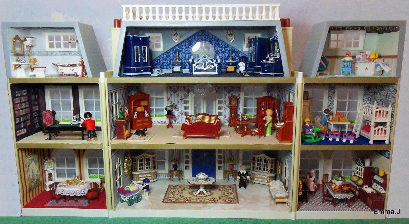 A new victorian mansion emma j 39 s playmobil - Mansion victoriana ...