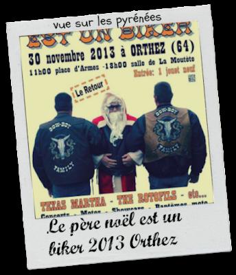 Le père noël est un biker 2013 Orthez