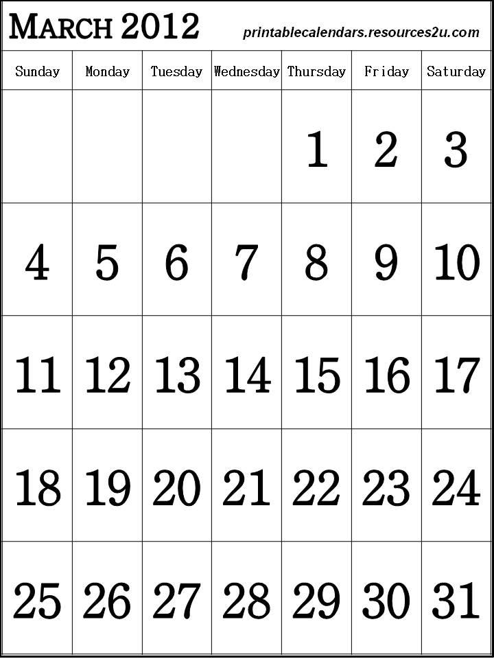 Printable 2 Column 2016 Calendars | Calendar Template 2016