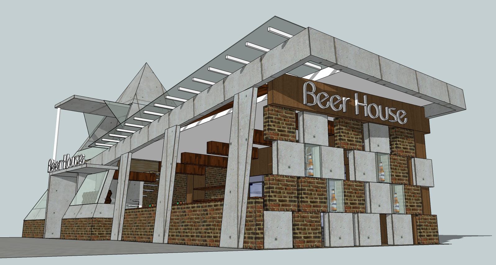 Jasa Kontraktor Rumah Bandung - Beer House Ranggaganding