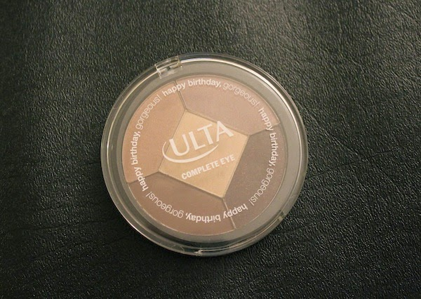 BEAUTY Ulta Birthday Gift 2015