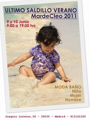 Último mercadillo MardeCleo: bañadores para niños y adultos