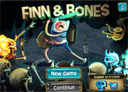 Adventure Time Finn and Bones