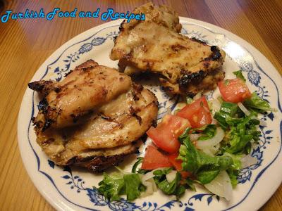 BBQ Yogurt Marinated Chicken--A Delicious Turkish Recipe