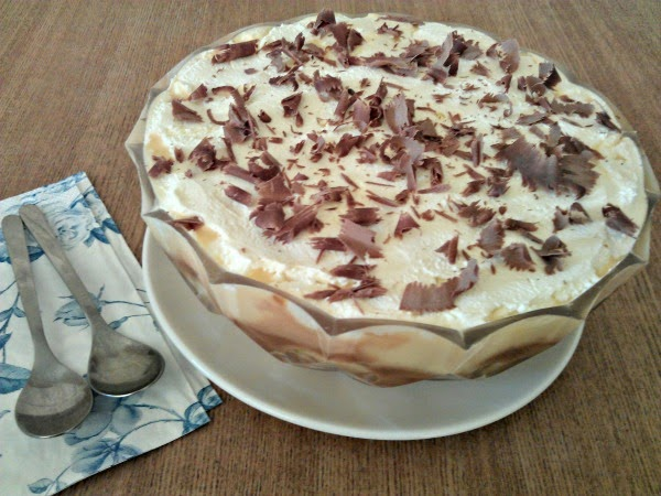 Banoffee trifle // mylittlekitchenblog.co.uk