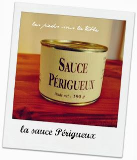 la sauce Périgueux