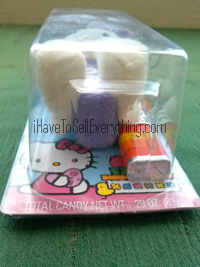 Hello Kitty Pez dispenser plush Easter Bunny lying down
