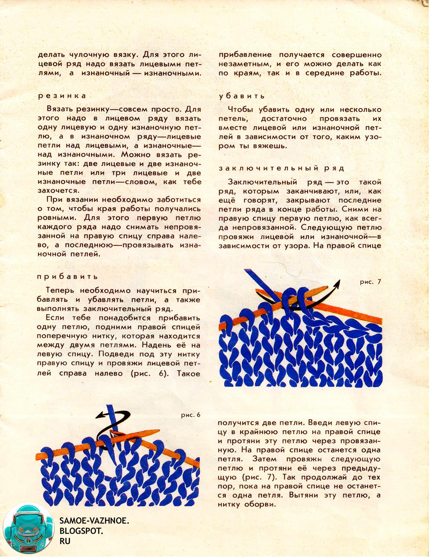 Альбом по вязанию спицами и крючком СССР