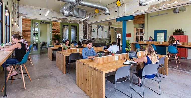 co working spaces enhances creativity