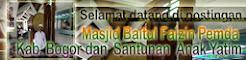 Masjid Baitul Faizin Pemda Kab. Bogor dan Santunan Anak Yatim